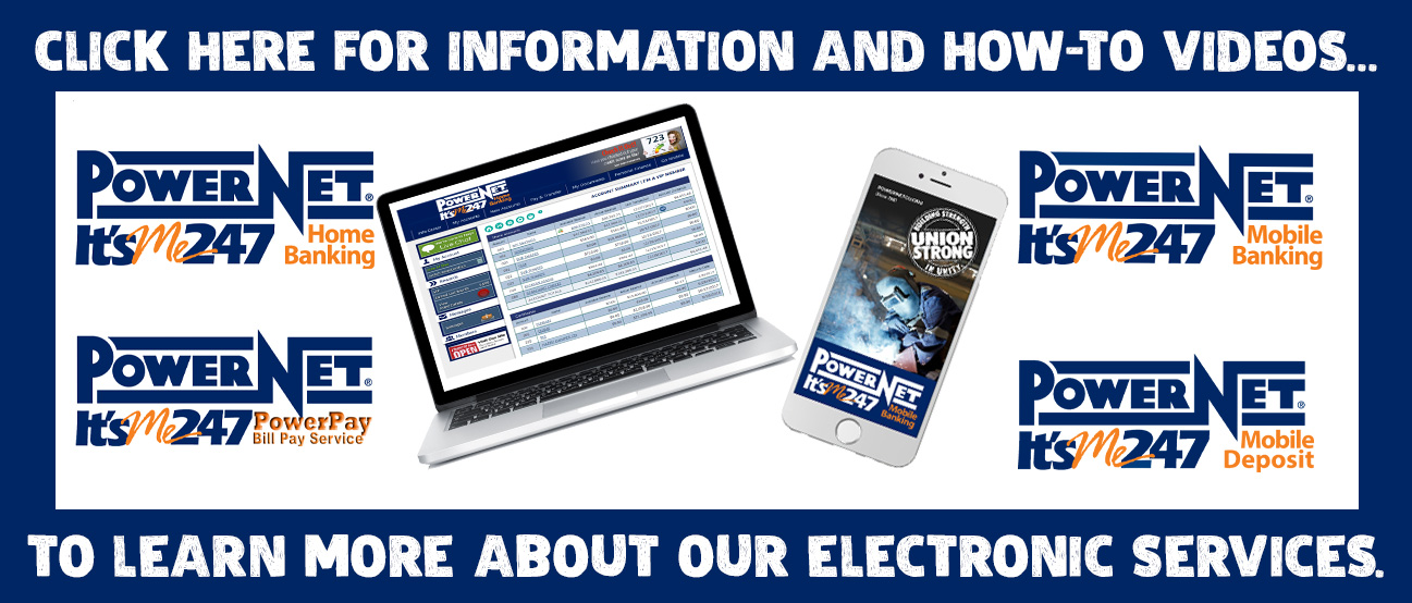 Learn more about our electronic services.