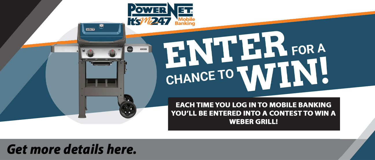 Enter for a chance to win a Weber outdoor gas grill