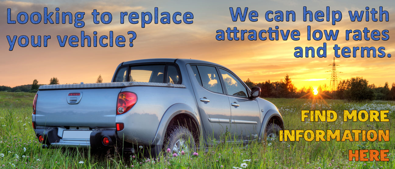 We can help with attractive vehicle loan rates and terms
