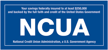 Your savings federally insured by NCUA
